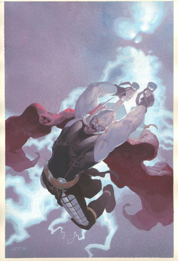 Absolute-ly | Ribic's Thor: God Of Thunder