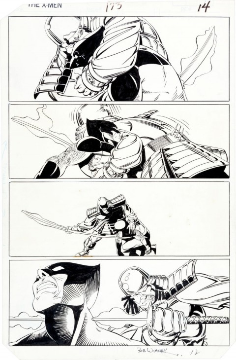 Uncanny X-Men issue 173 page 14 by Paul Smith and Bob Wiacek