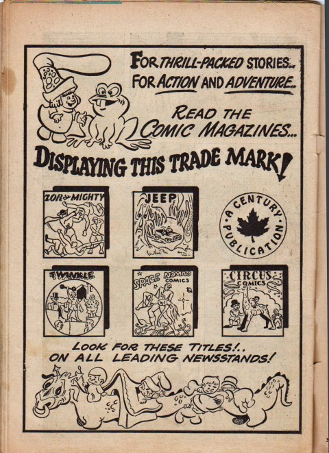Ad from Jeep Comics No. 2