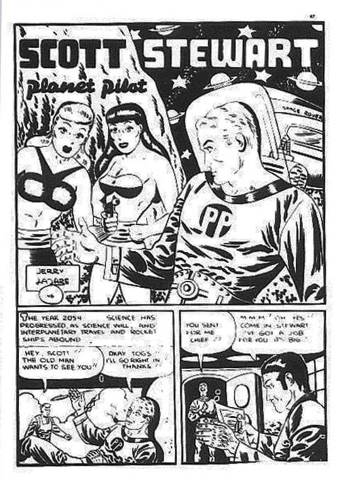 Scott Stewart Planet Pilot from Joke 26