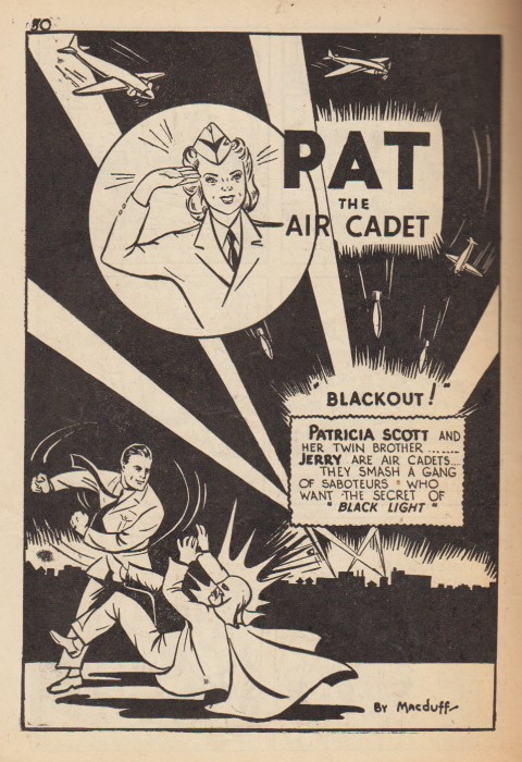 Pat the Air Cadet from Grand Slam Vol. 1 No. 7