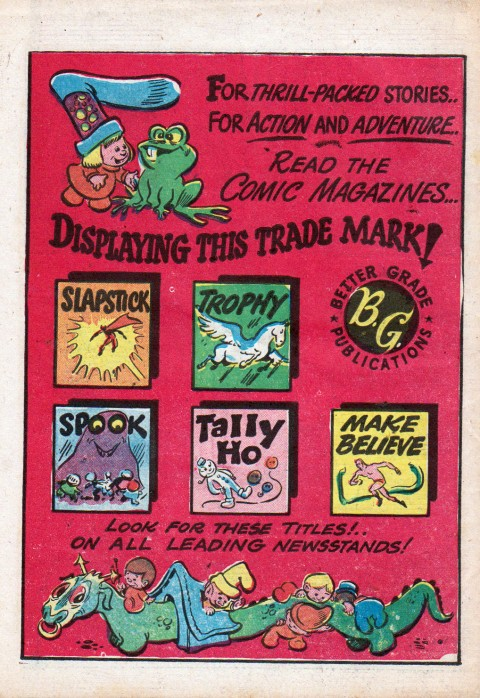 Ad from Circus Comics
