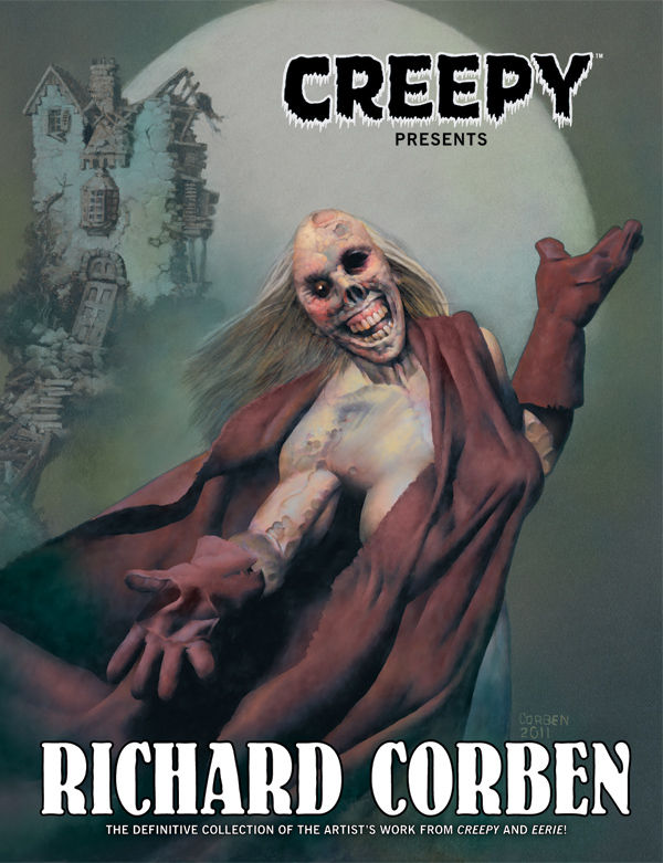 Creepy Presents Richard Corben and Baker Street