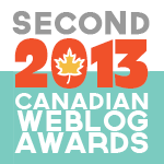 CBD: Canadian Weblog Award Winner!