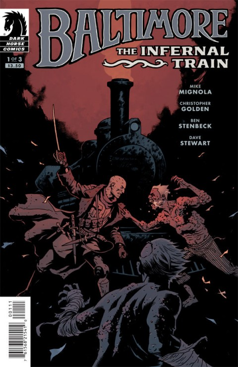 Baltimore: The Infernal Train #1 cover