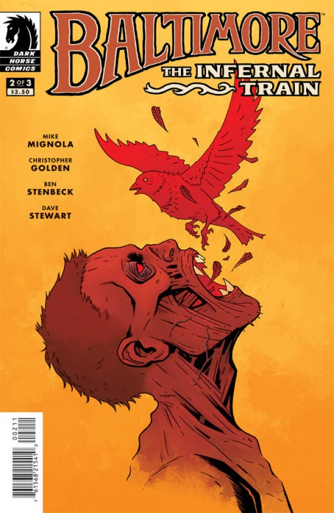 Baltimore: The Infernal Train #2 cover