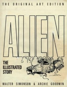 Alien The Illustrated Story Original Art Edition cover
