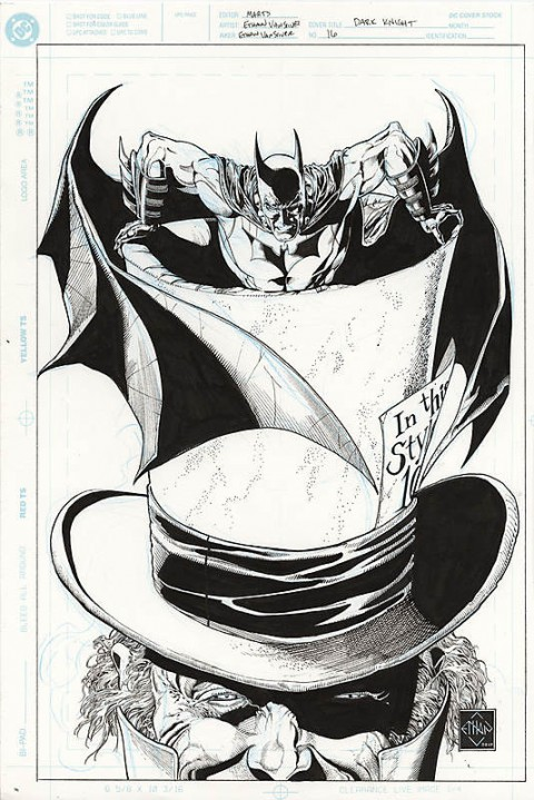 Batman The Dark Knight issue 16 cover by Ethan Van Sciver