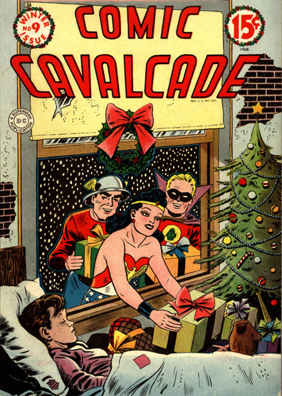 Comic Cavalcade issue 9 cover