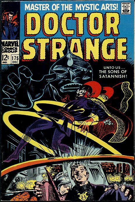 Dr. Strange issue 175 cover