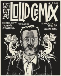 LOUD COMIX #1 cover
