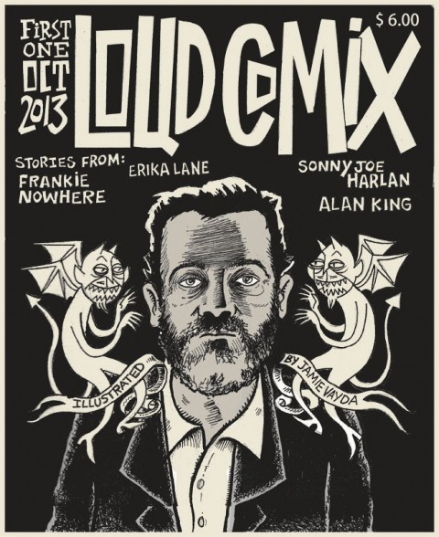 LOUD COMIX #1 cover