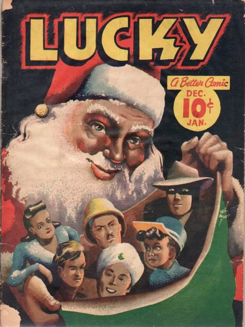 Lucky Comics Vol. 2 No. 7, Dec. 1942  to Jan. 1943