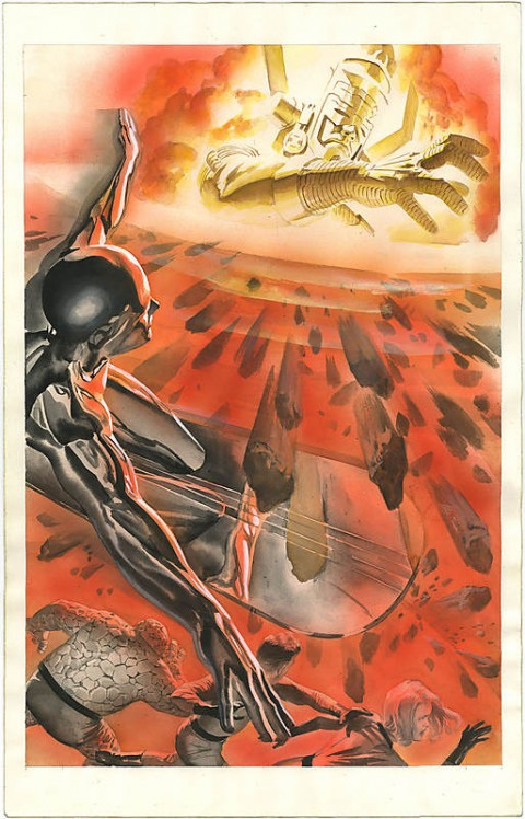 Marvels issue 3 page 32 by Alex Ross