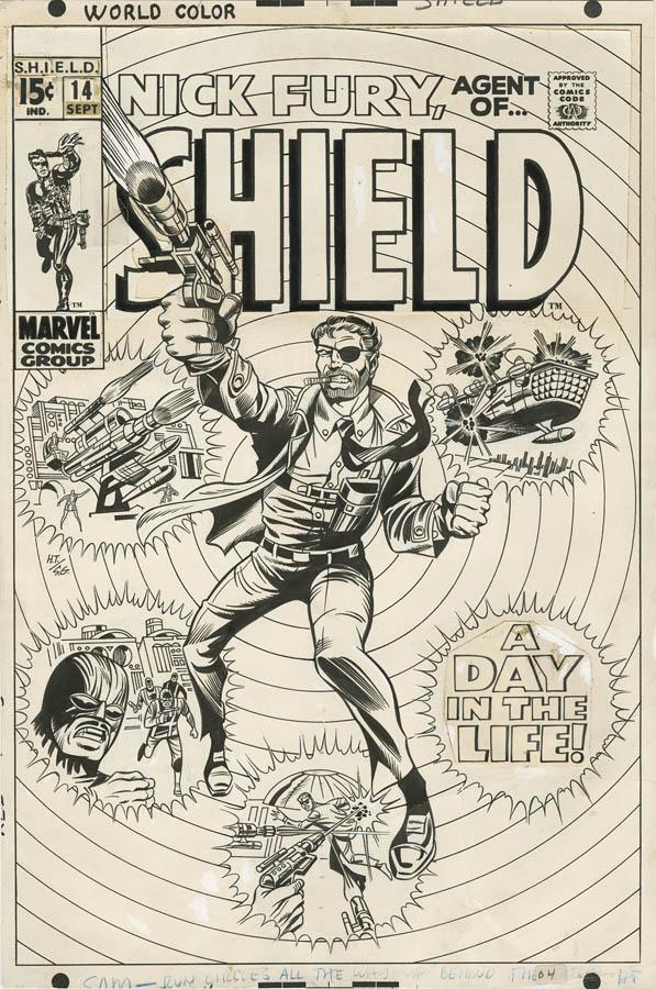ComicLink December 2013 Featured Auction Original Art