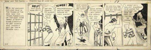 Terry and the Pirates 12-31-1934 by Milton Caniff