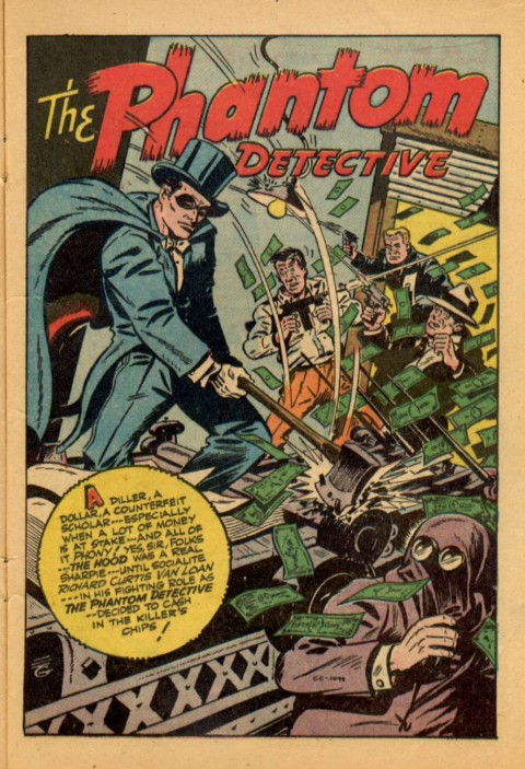 Thrilling Comics 61, from 1947