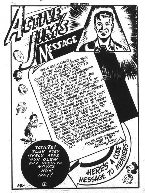 From Active Comics No. 14 p. 16