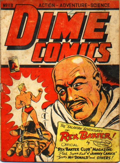 Good's Dime Comics 13 cover