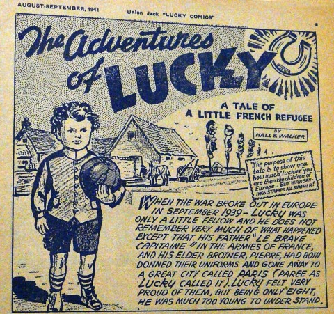 From the third issue of Lucky Comics
