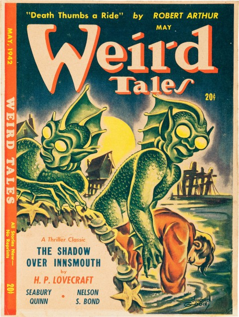 Canadian edition of Weird Tales May, 1942