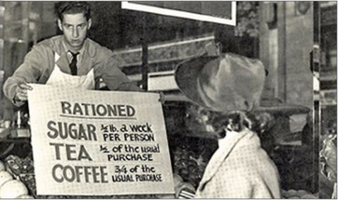 Rationing in Canada from Christmas 1943