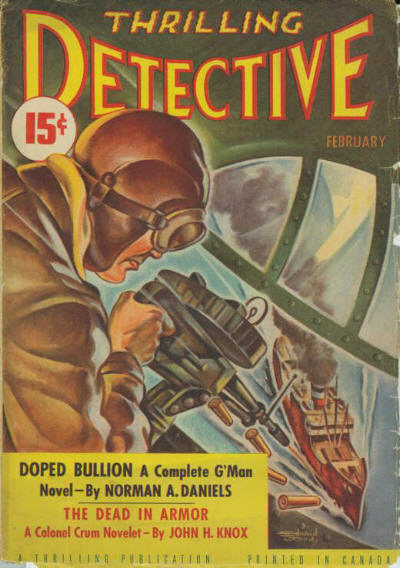 Canadian Thrilling Detective Pulp February, 1942