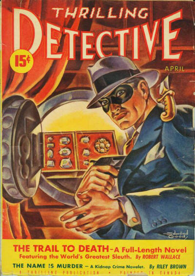 Canadian Thrilling Detective pulp April, 1942