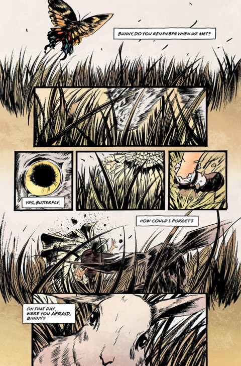 Pretty Deadly #1 page 1
