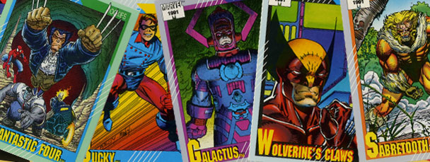 Marvel Trading Cards