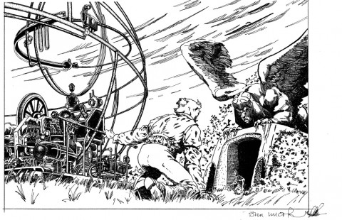 H.G. Wells' Time Machine by Berni Wrightson and Dennis DePues