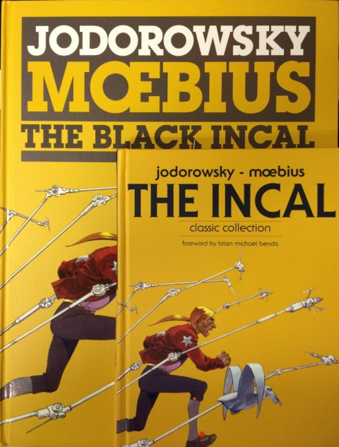 Incal Coffee Table Edition size comparison