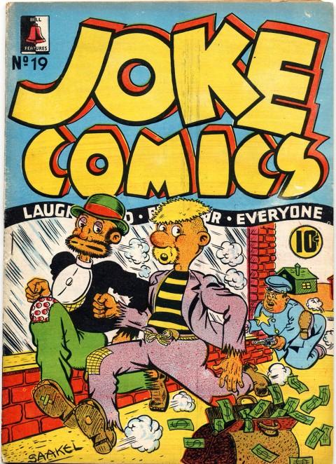 Ross Saakel cover from Joke 19