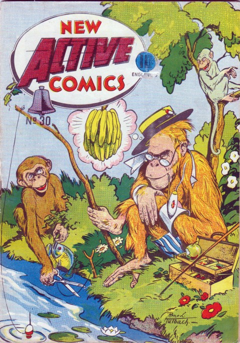 Great Rene Kulbach cover from what Active comics had become at the end of the WECA period
