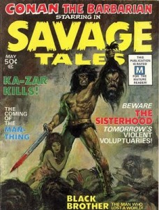 Savage Tales issue 1 cover