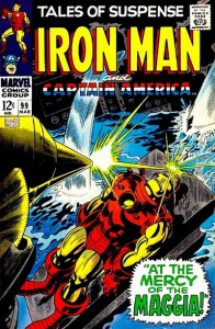 Tales Of Suspense issue 99 cover