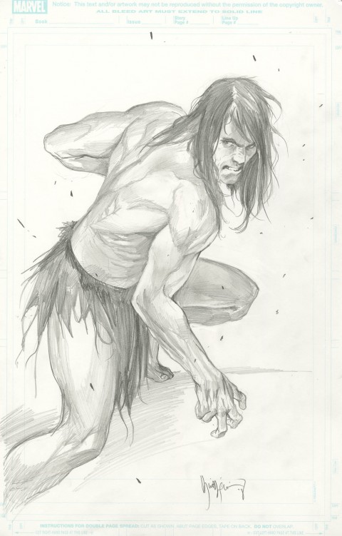 Tarzan commission by Marko Djurdjevic