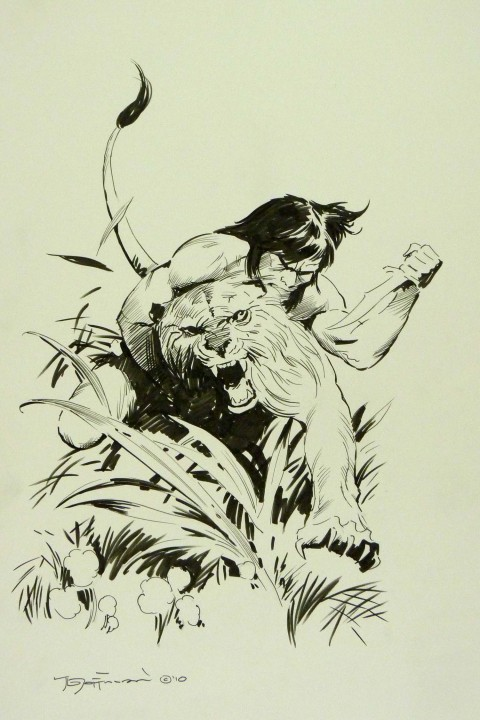 Tarzan commission by Mike Hoffman
