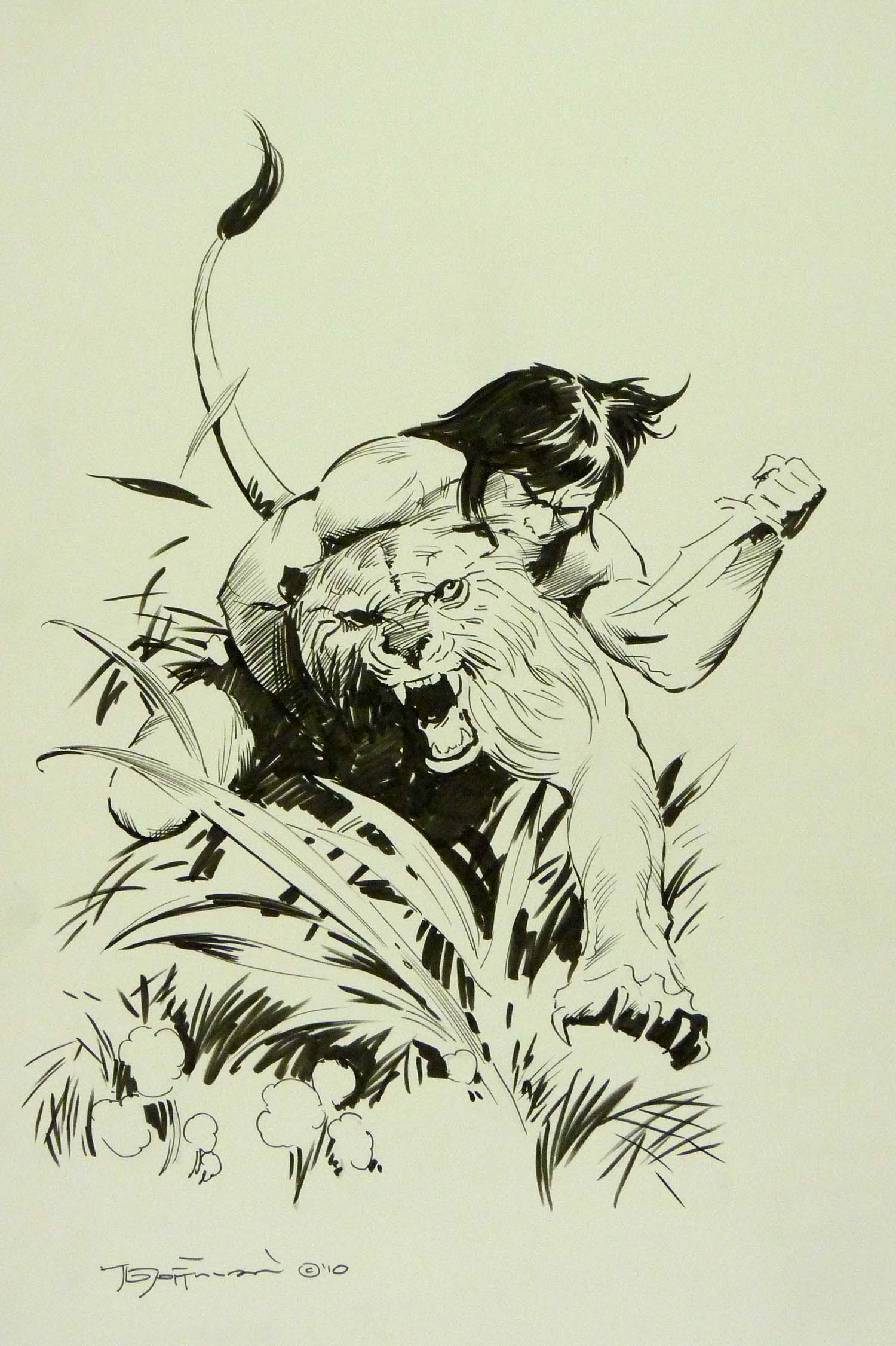 ComicLink January 2014 Focused Auction Original Art