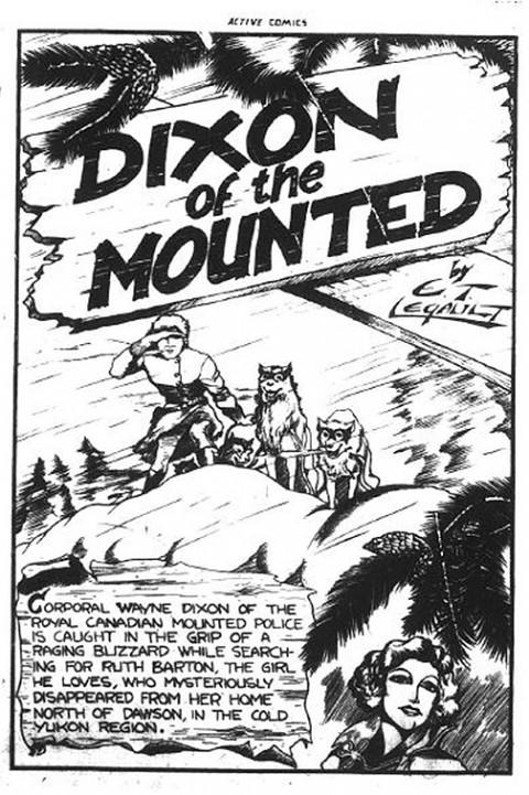 First Dixon splash from Active Comics No. 1