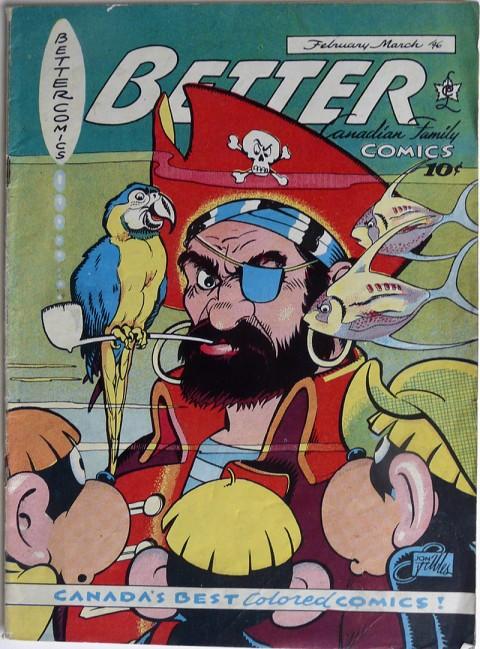 Nip, Flip and Zip Better Comics Vol. 7 No. 4 cover by Stables
