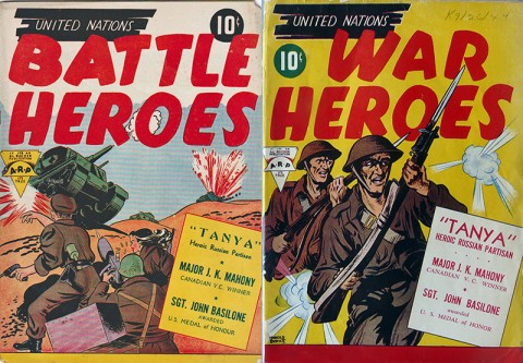 UN Battle Heroes and UN War Heroes (both have the same page content)