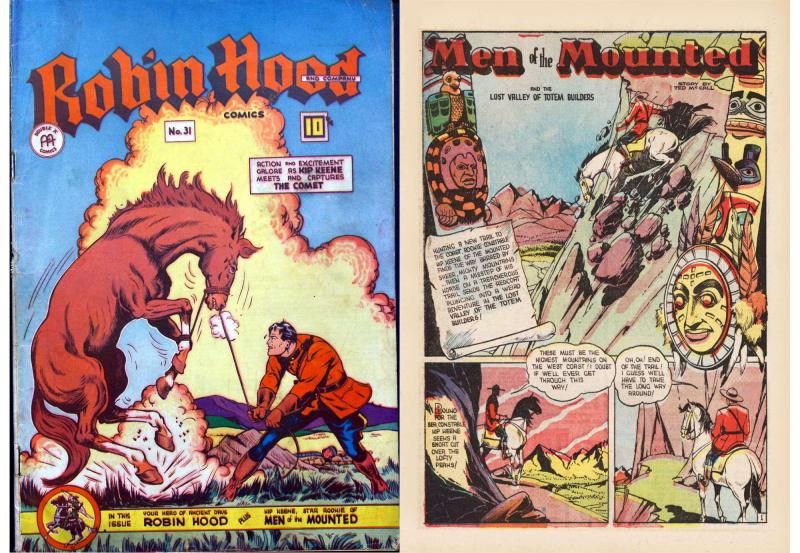 Robin Hood Comics No. 31