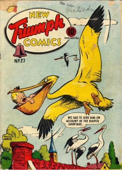 Rene Kulbach cover from what should be the transformed Triumph No. 32