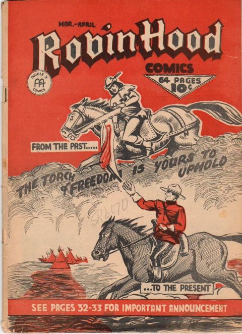 Robin Hood Comics Vol 2 No. 1