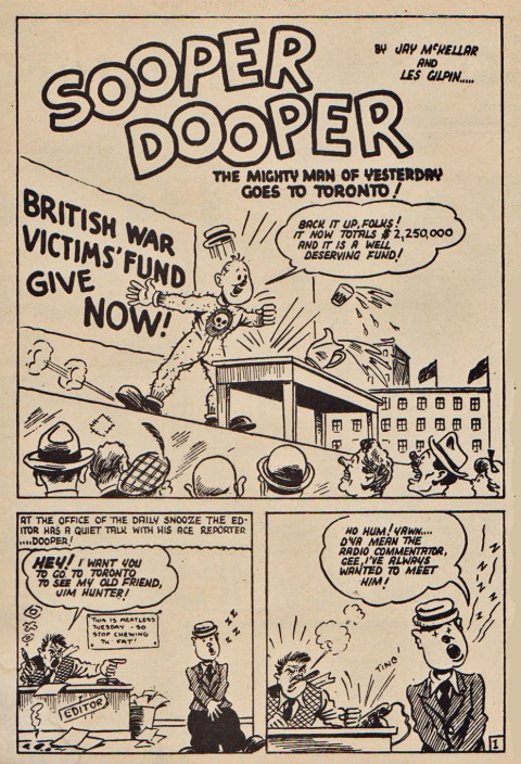 Les Gilpin's Sooper Dooper from Three Aces Comics Vol. 2 No. 11