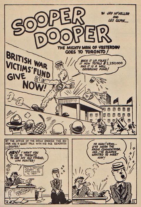 Les Gilpin's Sooper Dooper from Three Aces Comics Vol. 2 No. 11