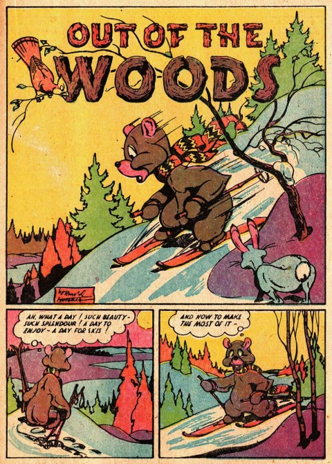 Rene Kullbach in colour from F. E. Howard's 1947 Super Duper No. 3