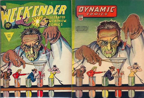 Weekender Vol. 2 No. 1 and Dynamic Comics 11