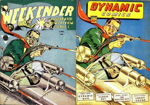 Weekender Vol. 2 No. 2 and Dynamic Comics 9